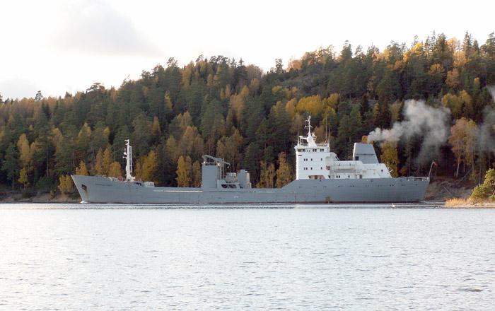 Fartyg Som Passerat Kungsdalen 2009