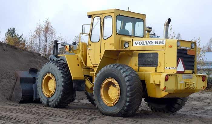 vecchi caricatori gommati serie Volvo LM 846 (L50) (L70) VolvoLM846JP02